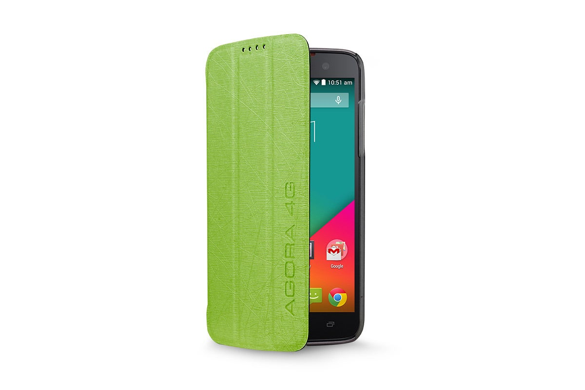 Cases - Flip Case for Kogan Agora 4G/4G+ Smartphone (Green)