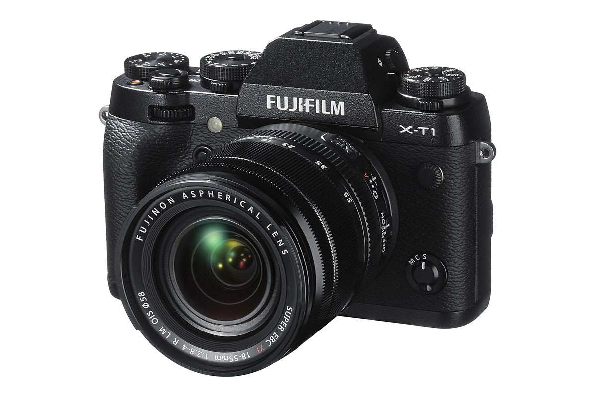 Mirrorless Interchangeable Lens Cameras - Fujifilm X-T1 Digital Camera with 18-55mm Lens Kit