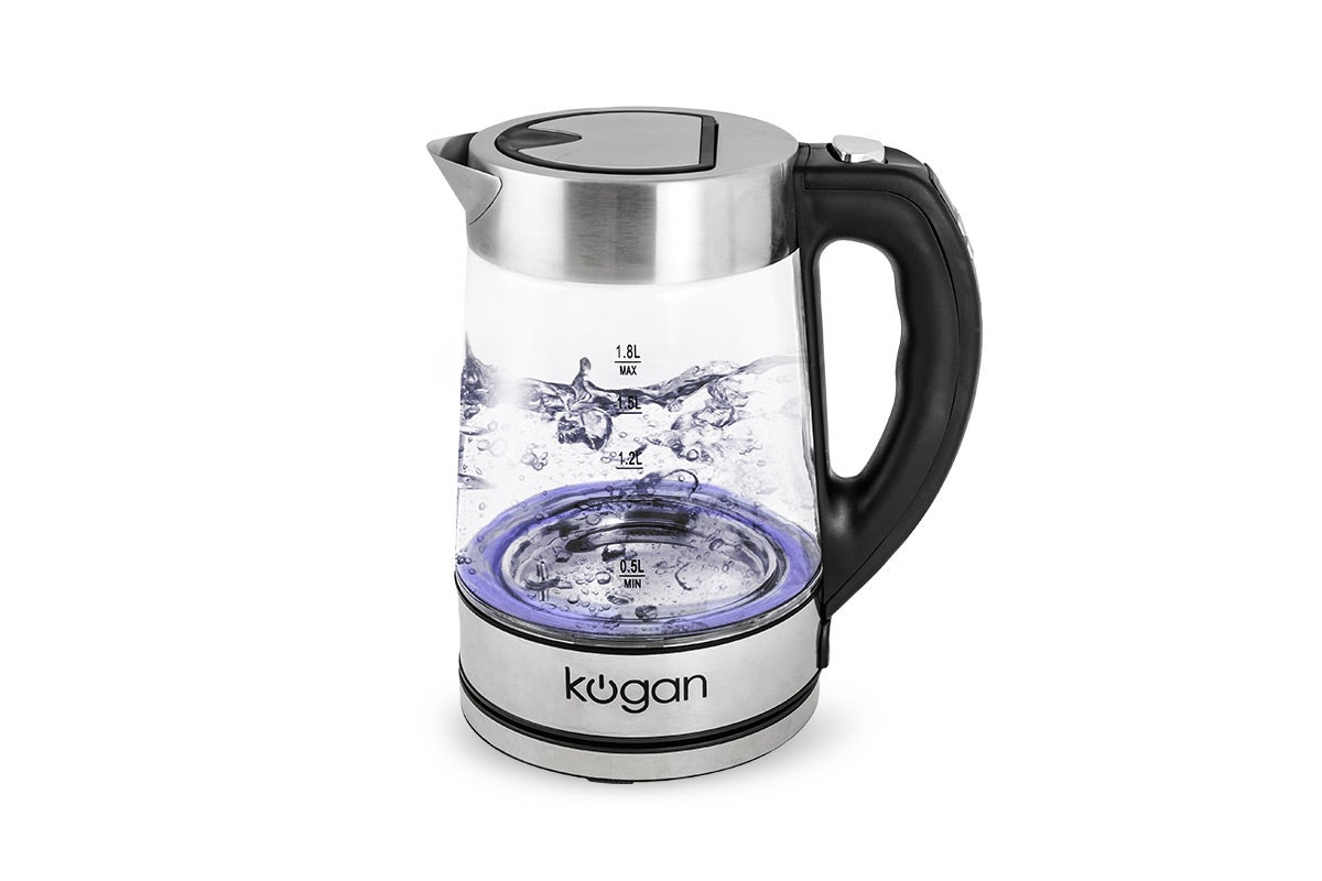 Kettles - Kogan 1.8L Glass Smart Kettle
