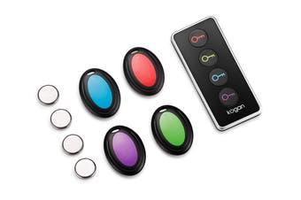 Wireless Remote Key Finder (Set of 4)