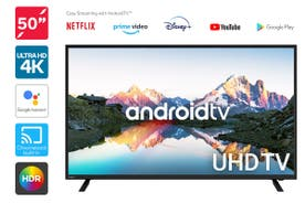 "Kogan 50"" 4K UHD HDR LED Smart TV Android TV™ (Series 9, RU9220)"
