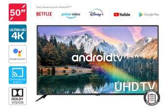 "Kogan 50"" 4K UHD HDR LED Smart TV Android TV™ (Series 9, XU9210) Preowned"