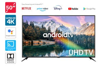 "Kogan 50"" 4K UHD HDR LED Smart TV Android TV™ (Series 9, XU9210)"