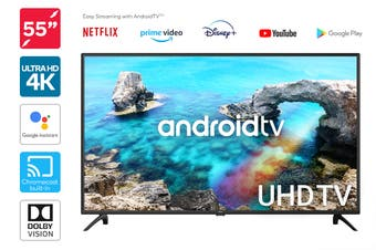 "Kogan 55"" 4K UHD HDR LED Smart TV Android TV™ (Series 9, XU9220)"