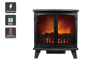 Kogan 1800W Flame Effect Heater