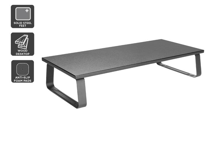 Kogan Modern Laptop & Monitor Stand with Steel Frame