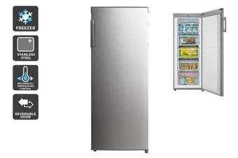 Kogan 172L Upright Freezer - Stainless Steel