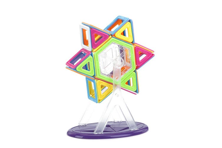 128 Piece Magnetic Block Set