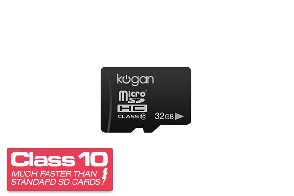 Memory Cards - 32GB Micro SDHC Class 10 Memory Card - Kogan