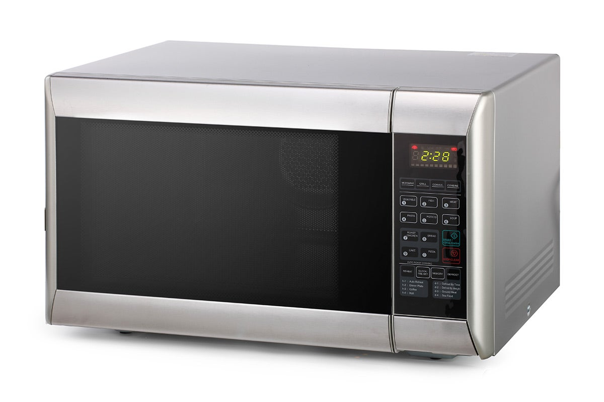 Microwaves - Kogan 32L Stainless Steel Convection Microwave Oven with Grill