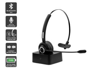 Kogan Bluetooth Headset with Microphone and Charging Base