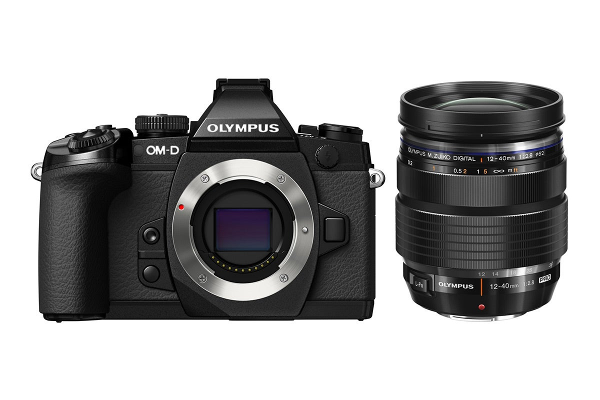 Compact Digital Cameras - Olympus OM-D E-M1 with 12-40mm Lens Kit