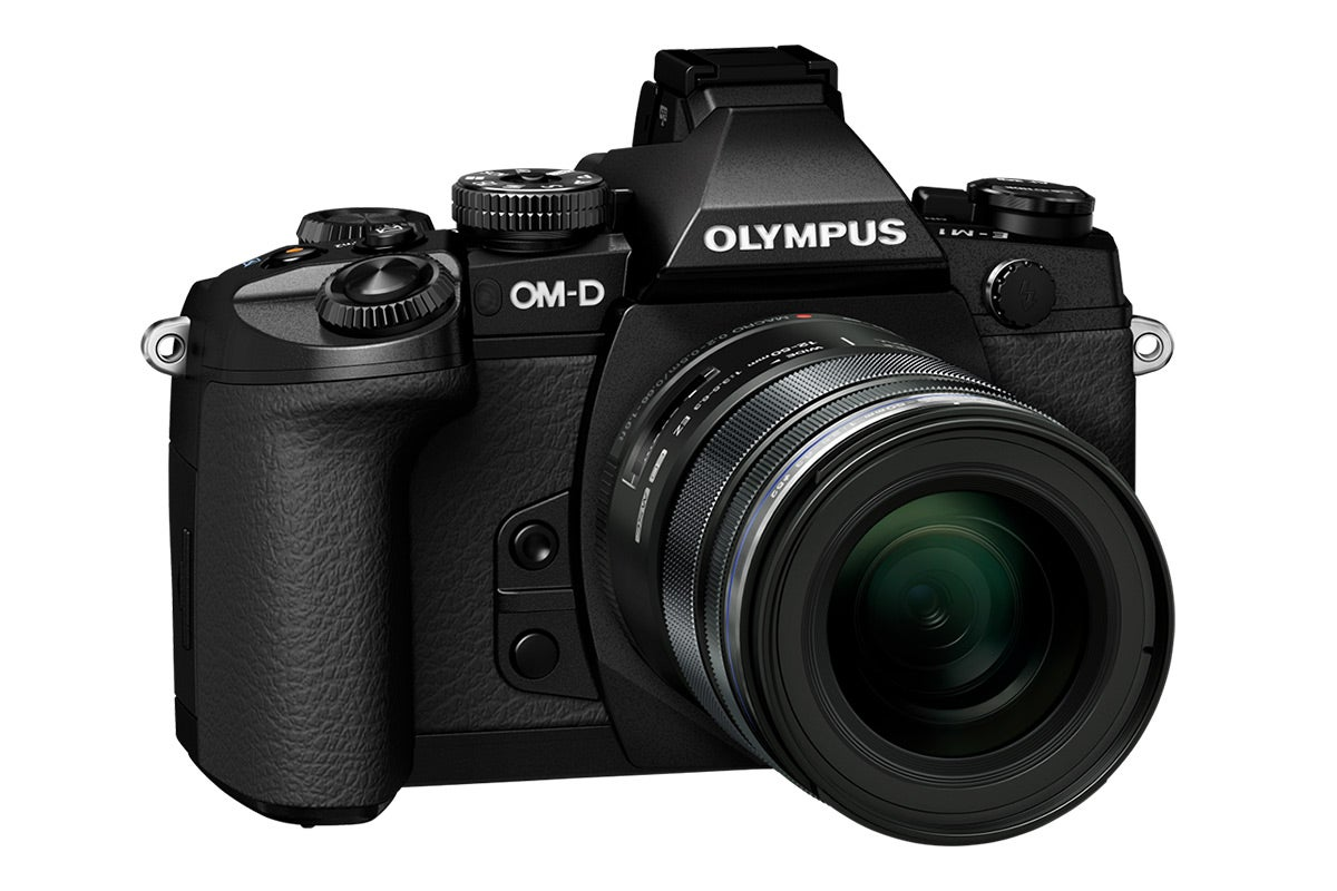 Compact Digital Cameras - Olympus OM-D E-M1 with 12-50mm Lens Kit