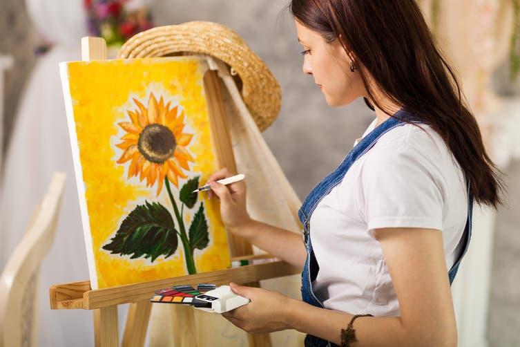 Portable Watercolour Paint Art Set (18 Colours)