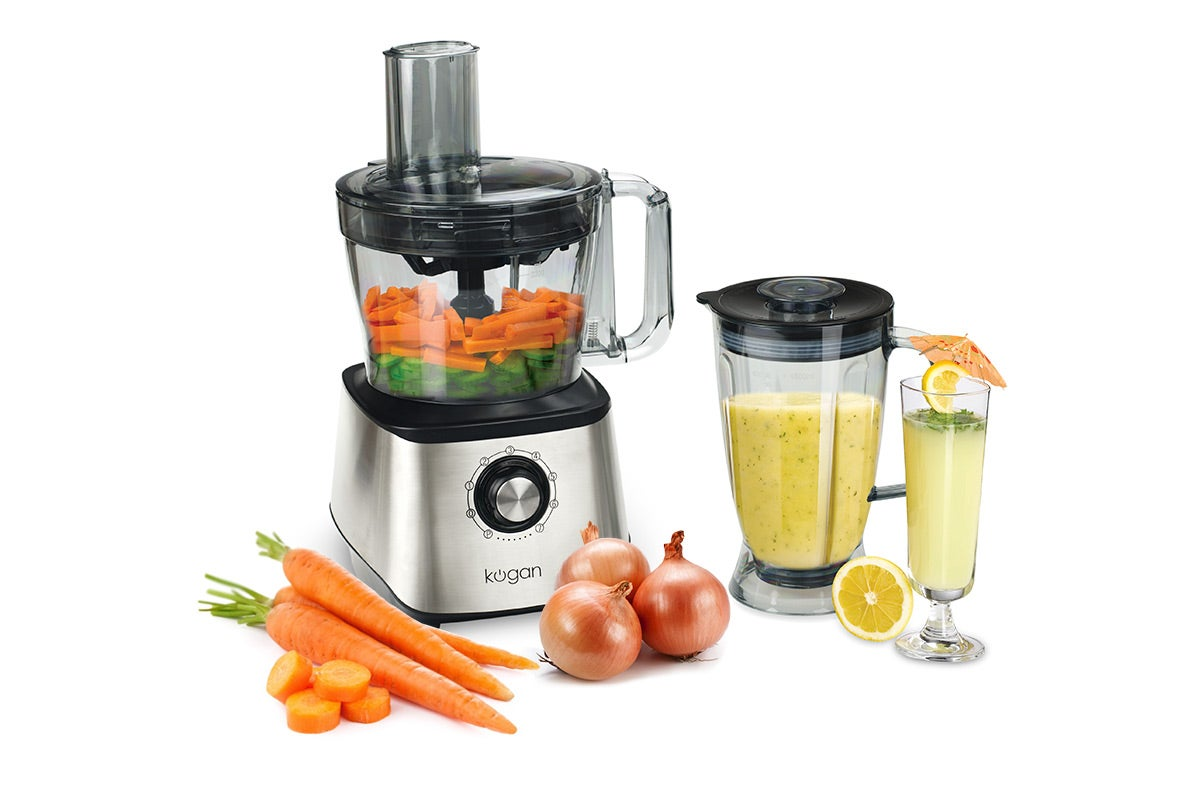 Food Preparation - Kogan 1000W Professional Food Processor & Blender
