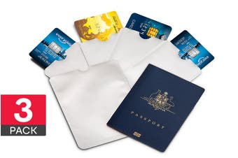 18 Piece Credit Card & Passport RFID Sleeve Set