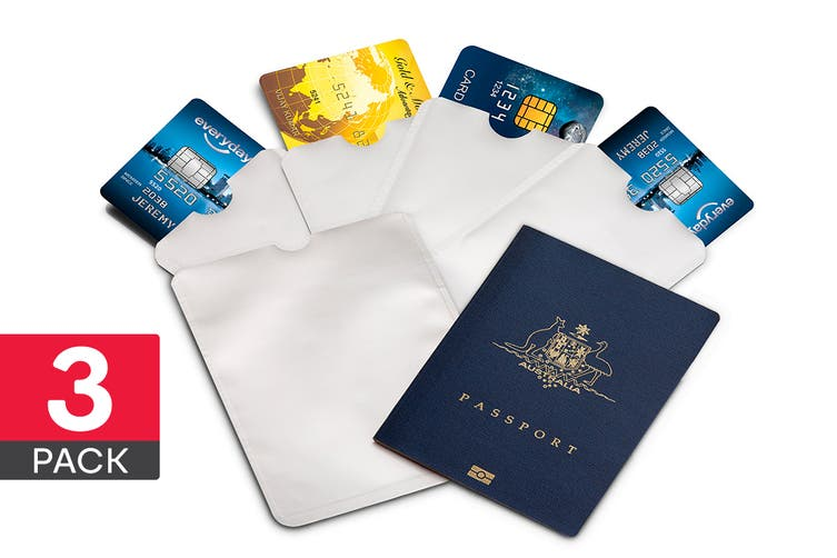 18 Piece Credit Card & Passport RFID Sleeve Set