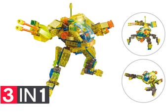 Lego Compatible MetaMorph Elite Blocks (Light Up Robot)