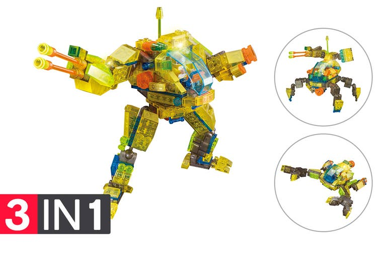 Lego Compatible MetaMorph Elite Blocks (Light Up Robot)