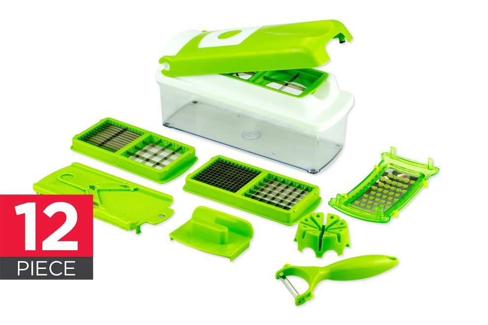 Food Preparation - Kogan Multi-Purpose 12 Piece Slicer