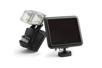 Solar Powered Motion Sensor Dual LED Flood Light (1500mAh)