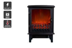 Kogan 1800W Compact Flame Effect Heater