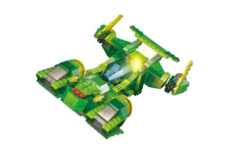 Lego Compatible MetaMorph Elite Blocks (Light Up Spaceship)