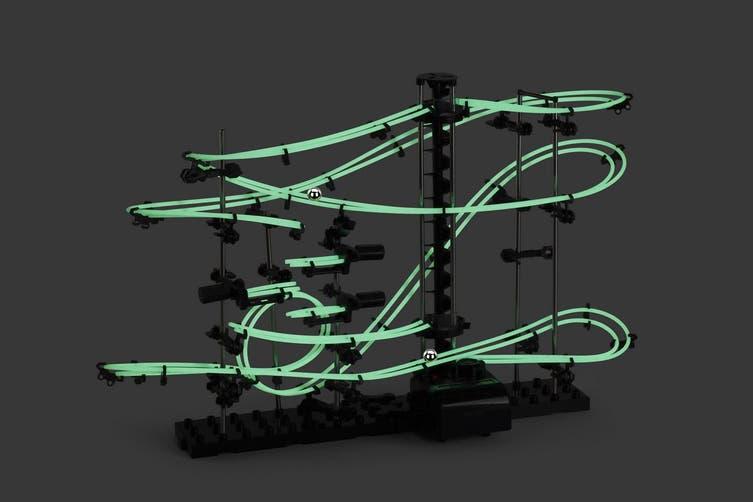 DIY Glow in the Dark Toy Rollercoaster (5m)