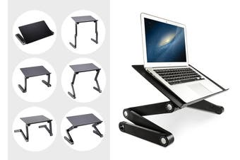 Kogan Adjustable Laptop and Tablet Stand with Mouse Pad