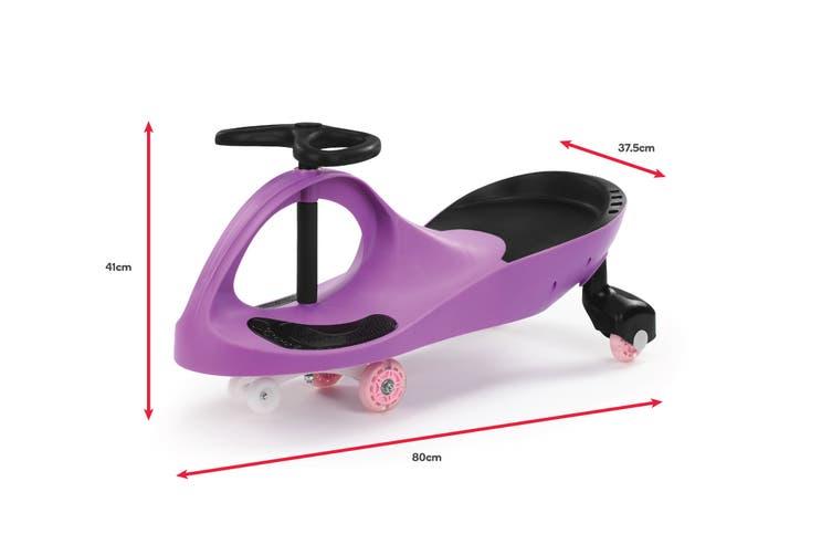Kids Swing Car (Purple)