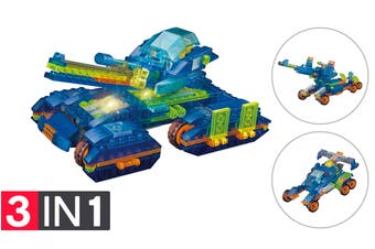 Lego Compatible MetaMorph Elite Blocks (Light Up Tank)