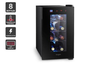 Kogan 8 Bottle Thermoelectric Wine Cooler