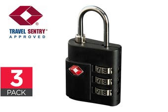 Orbis 3 Pack TSA Luggage Lock