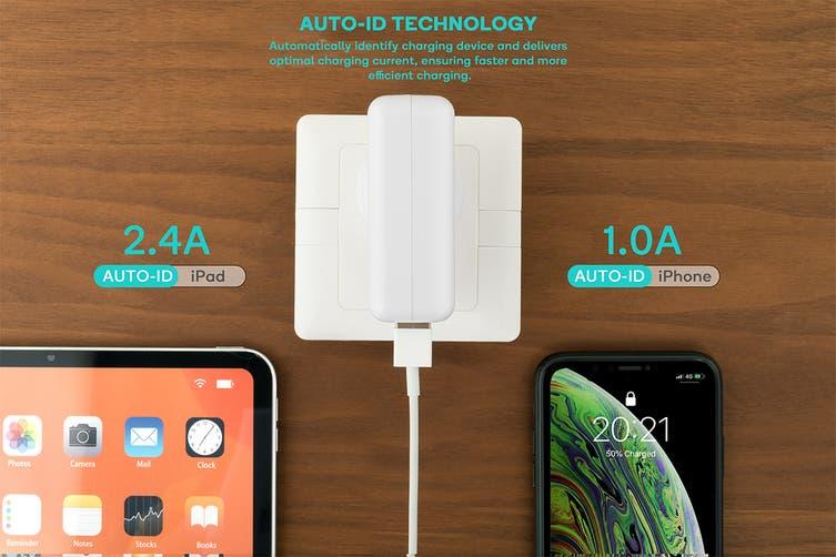 Kogan 4-Port USB Rapid Travel Charger