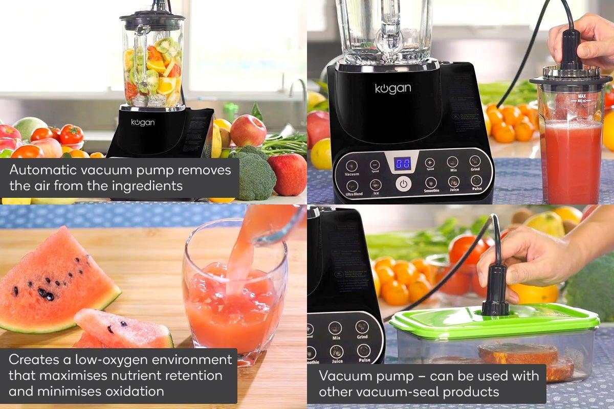 Vacuum Pump Benefits