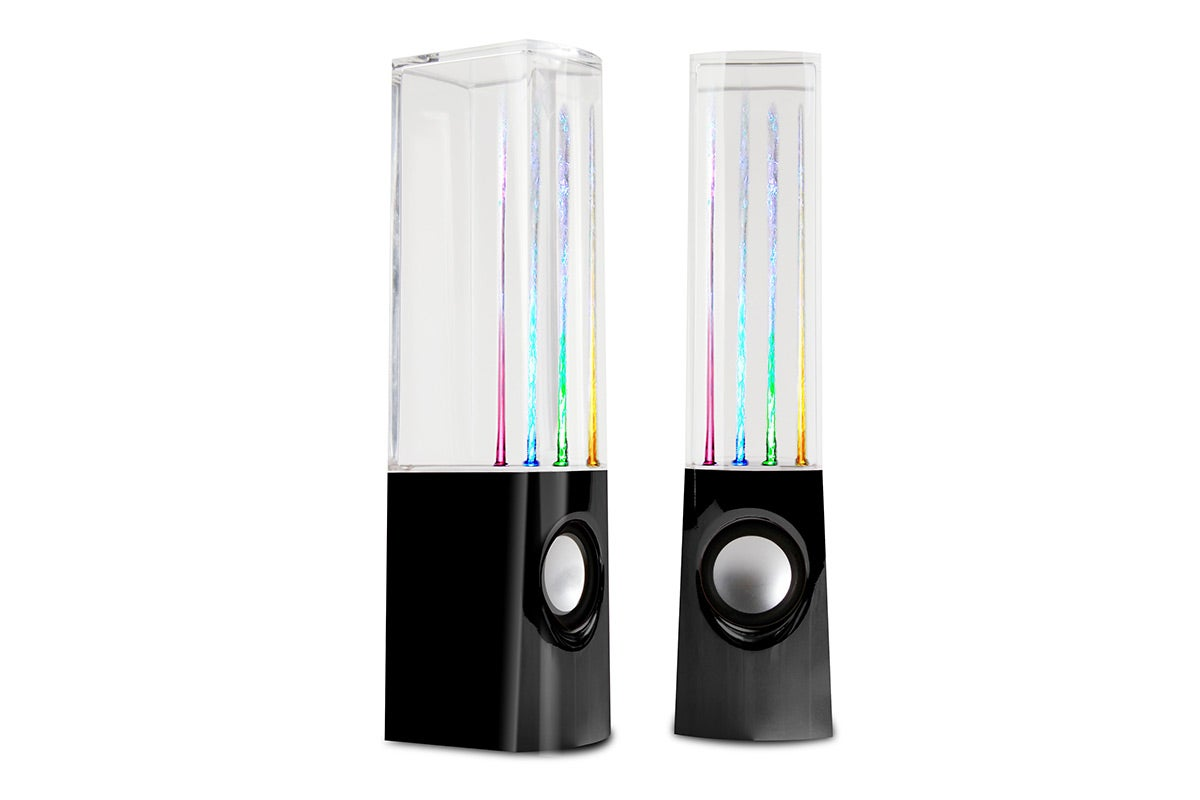 Portable Speakers - Kogan Water Fountain LED Speakers
