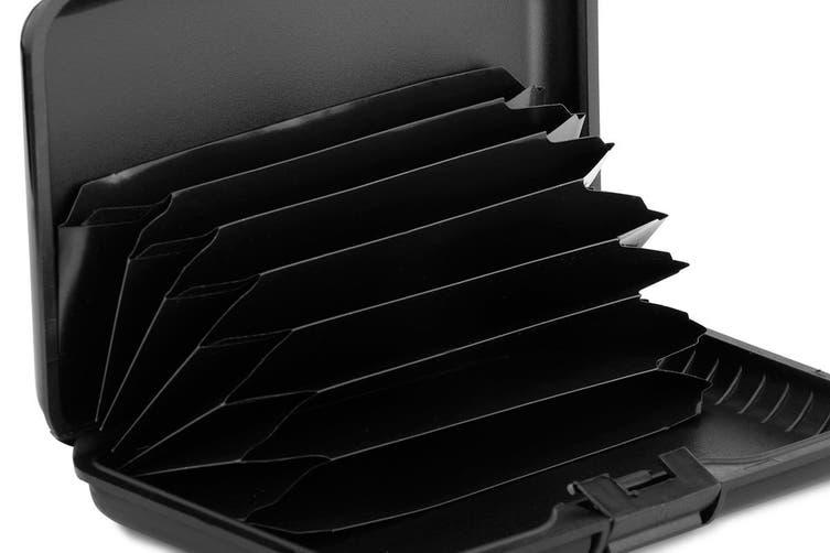 Aluminium Travel Wallet (Black)