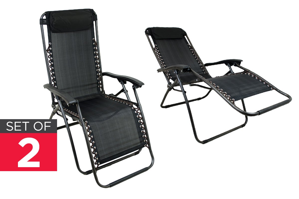 Read More > Kogan 2 Pack Kogan Zero Gravity Lounge Chair