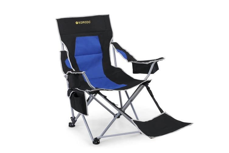 Komodo Deluxe Camping Chair with Footrest