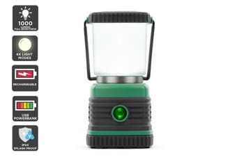 1000 Lumen Rechargeable Dimmable Portable Camping Lantern