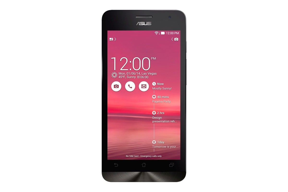 Android Phones - Asus ZenFone 6 Dual Sim A600CG (16GB, Black)