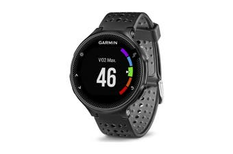 Garmin Forerunner 235 (Black and Gray Silicone)