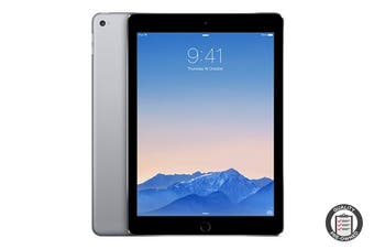 Apple iPad Air 2 Refurbished (64GB, Cellular, Space Grey) - A Grade