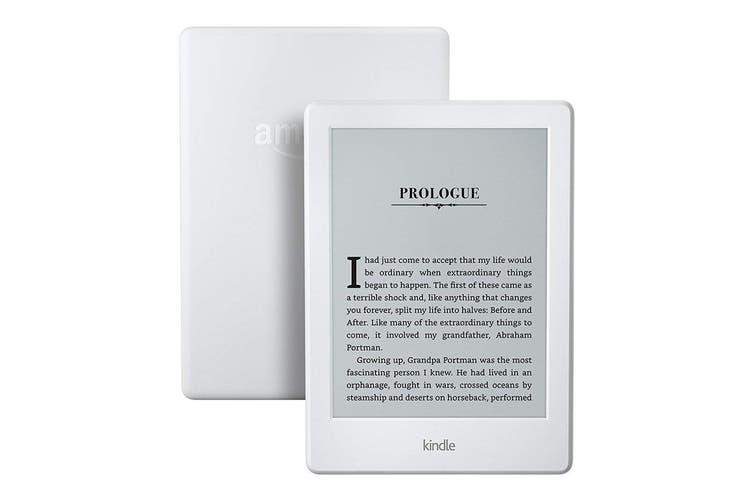 """Amazon Kindle 6"""" Wi-Fi eReader (4GB, White)"""