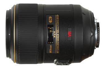 Nikon AF-S VR Micro NIKKOR 105mm f/2.8G IF ED Lens