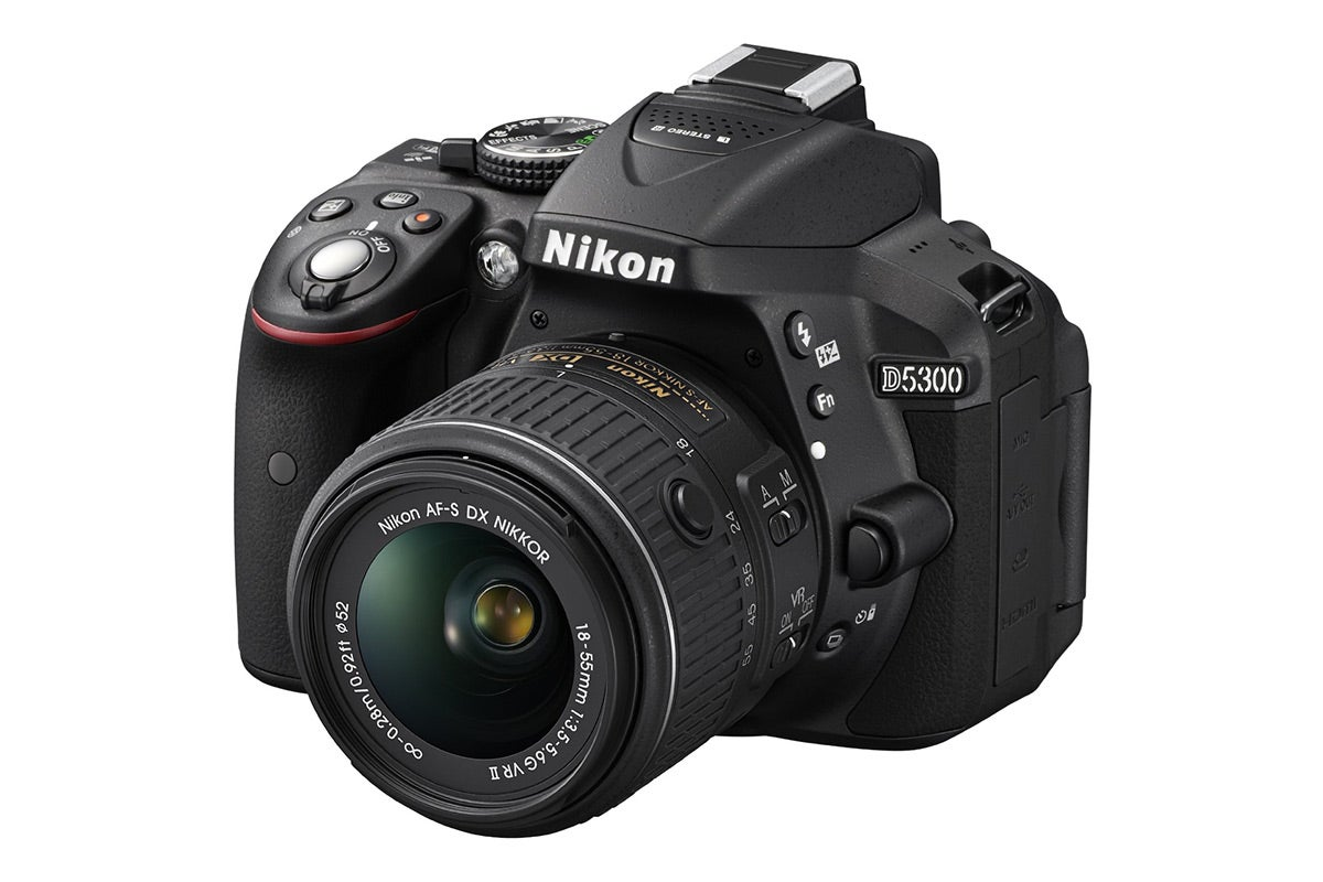DSLR Cameras - Nikon D5300 DSLR Camera with 18-55mm VR II Lens Kit
