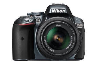 Nikon D5300 DSLR Camera 18-55mm VR Lens Kit (Black)