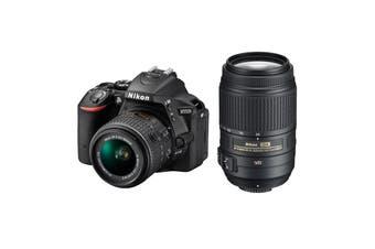 Nikon D5500 DSLR Camera 18-55mm VR II & 55-300mm VR Twin Lens Kit