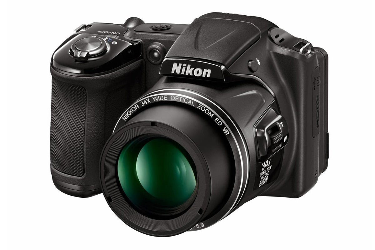 Compact Digital Cameras - Nikon Coolpix L830 Digital Camera (Black)