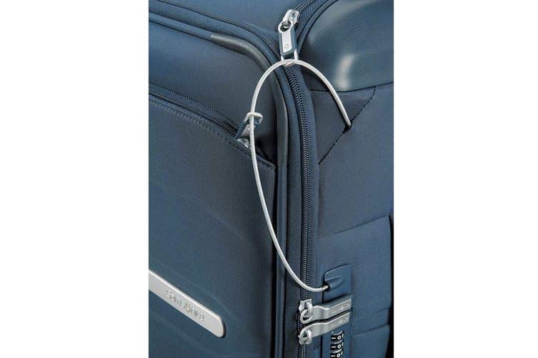 Samsonite Octolite 55cm Spinner Carry-On Cabin Luggage Case (Navy Blue)